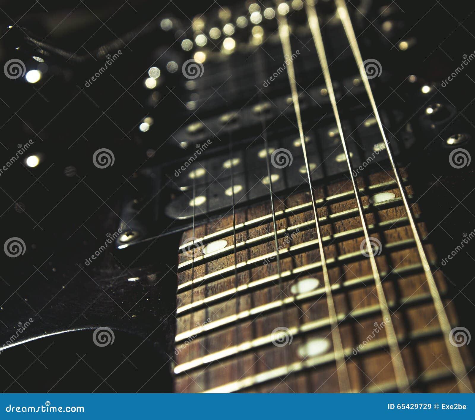Gitara elektryczna się blisko