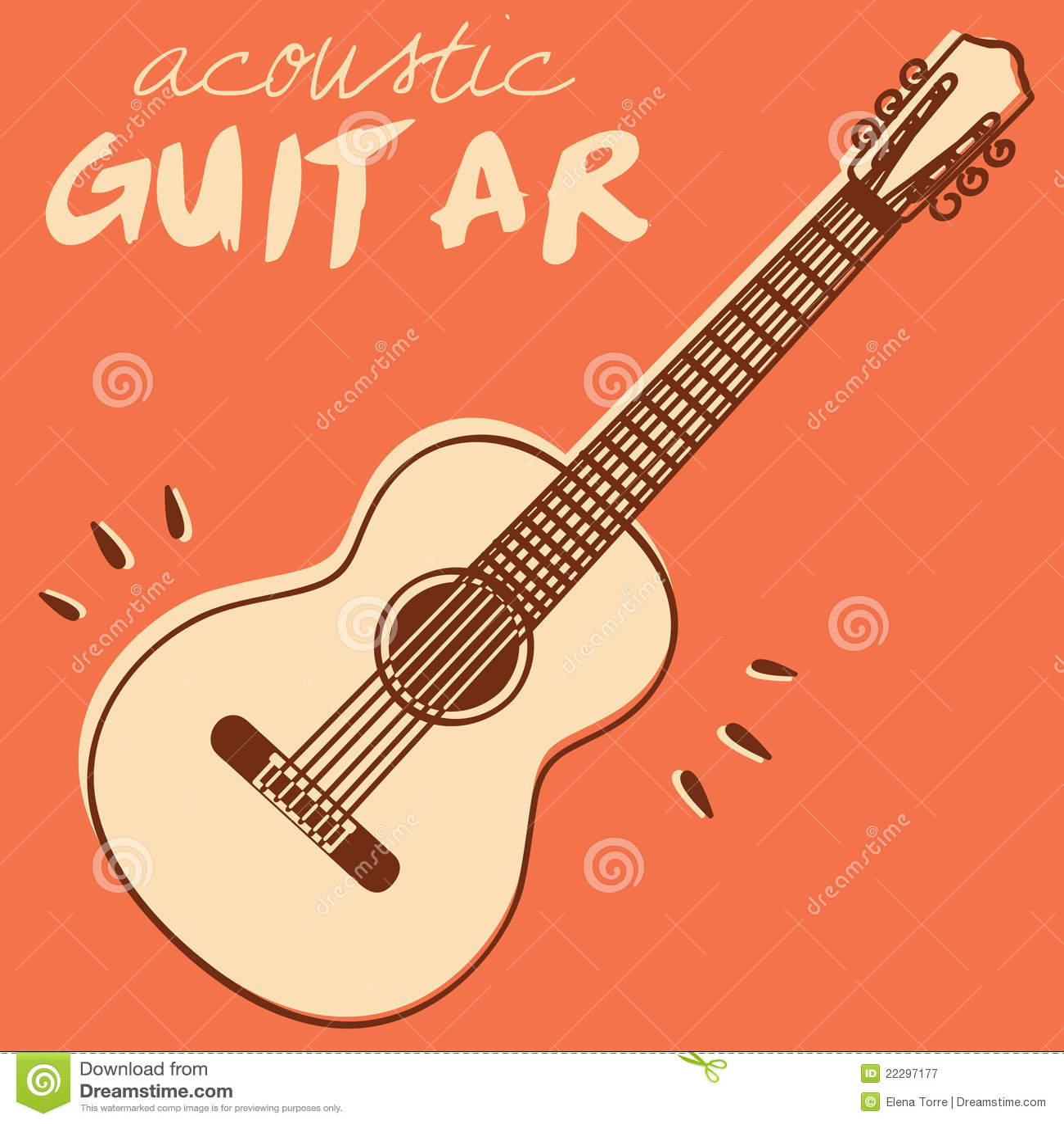 Gitara wektor