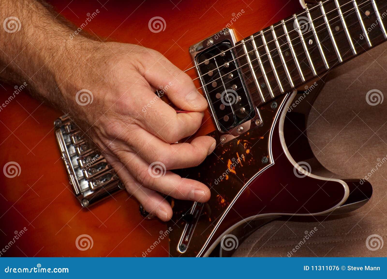 Gitarre allein