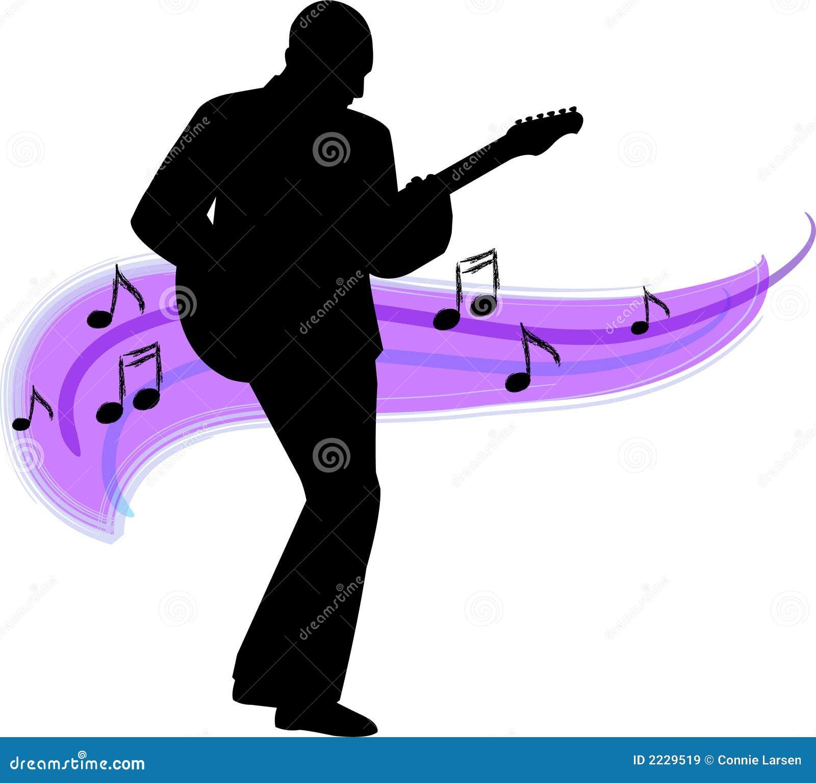Gitarre player/ai