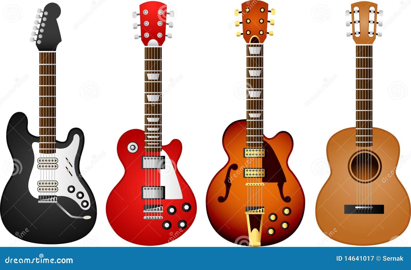 Gitarre stellte 1 ein