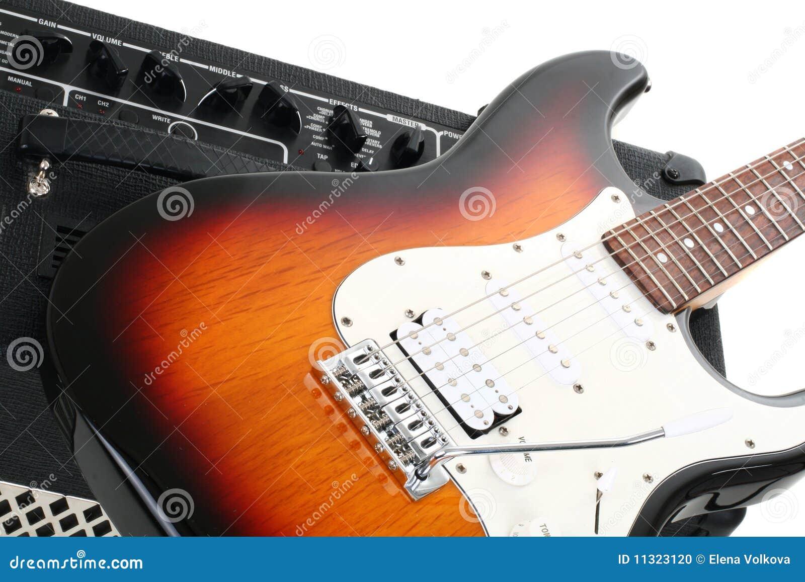 Gitarrenverstärker und electricguitar
