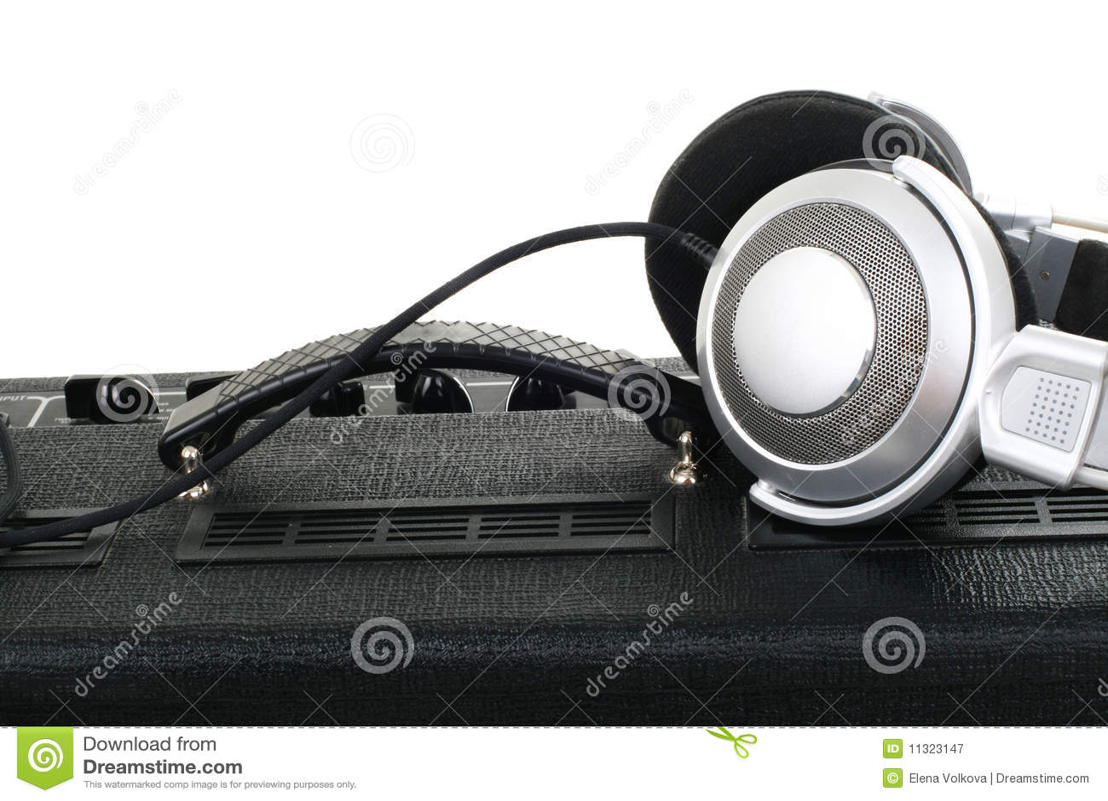 Gitarrenverstärker und -kopfhörer