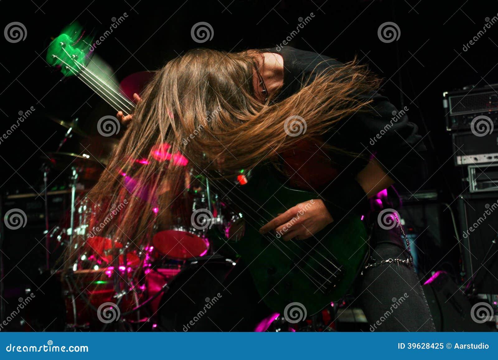 Gitarrist i handling
