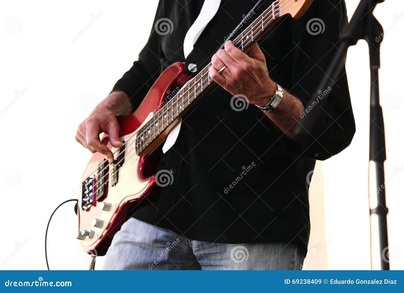 Gitarrist i konsert