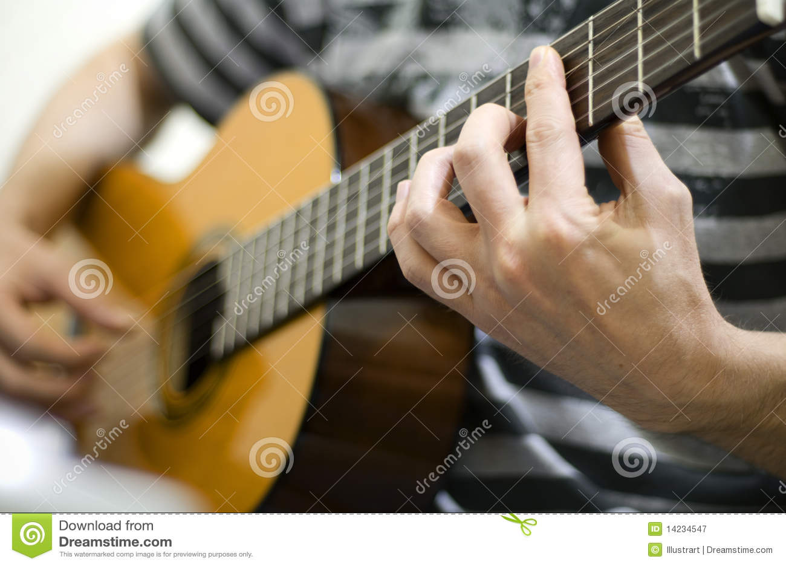 Gitary bawić się