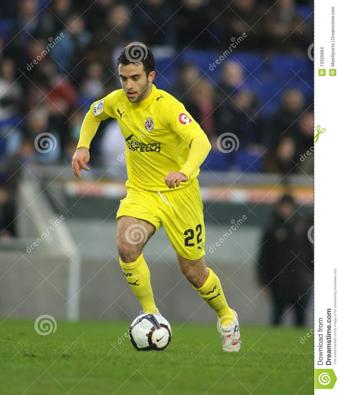 Giuseppe Rossi Villareal Editorial Stock Image Image
