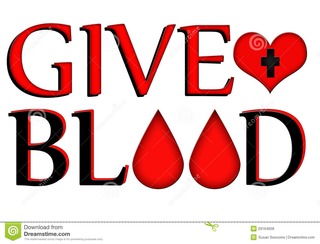 Giving Blood Clipart