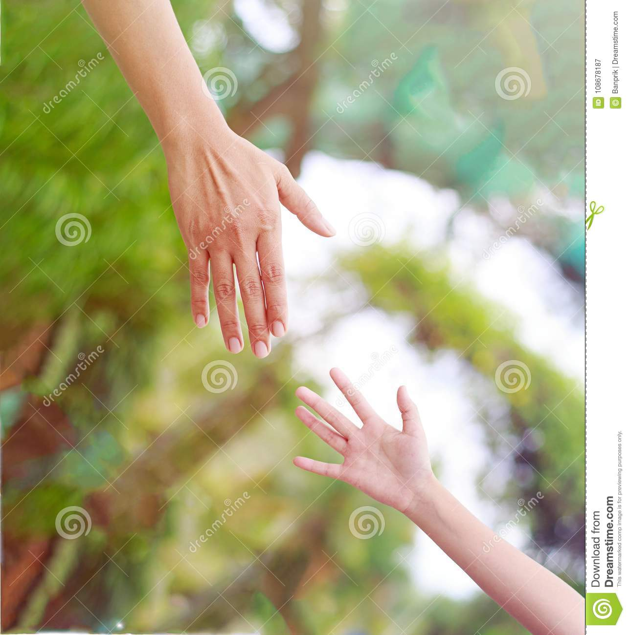 People Helping Each Other: Give A Helping Hand Stock Image. Image Of Love, Faith