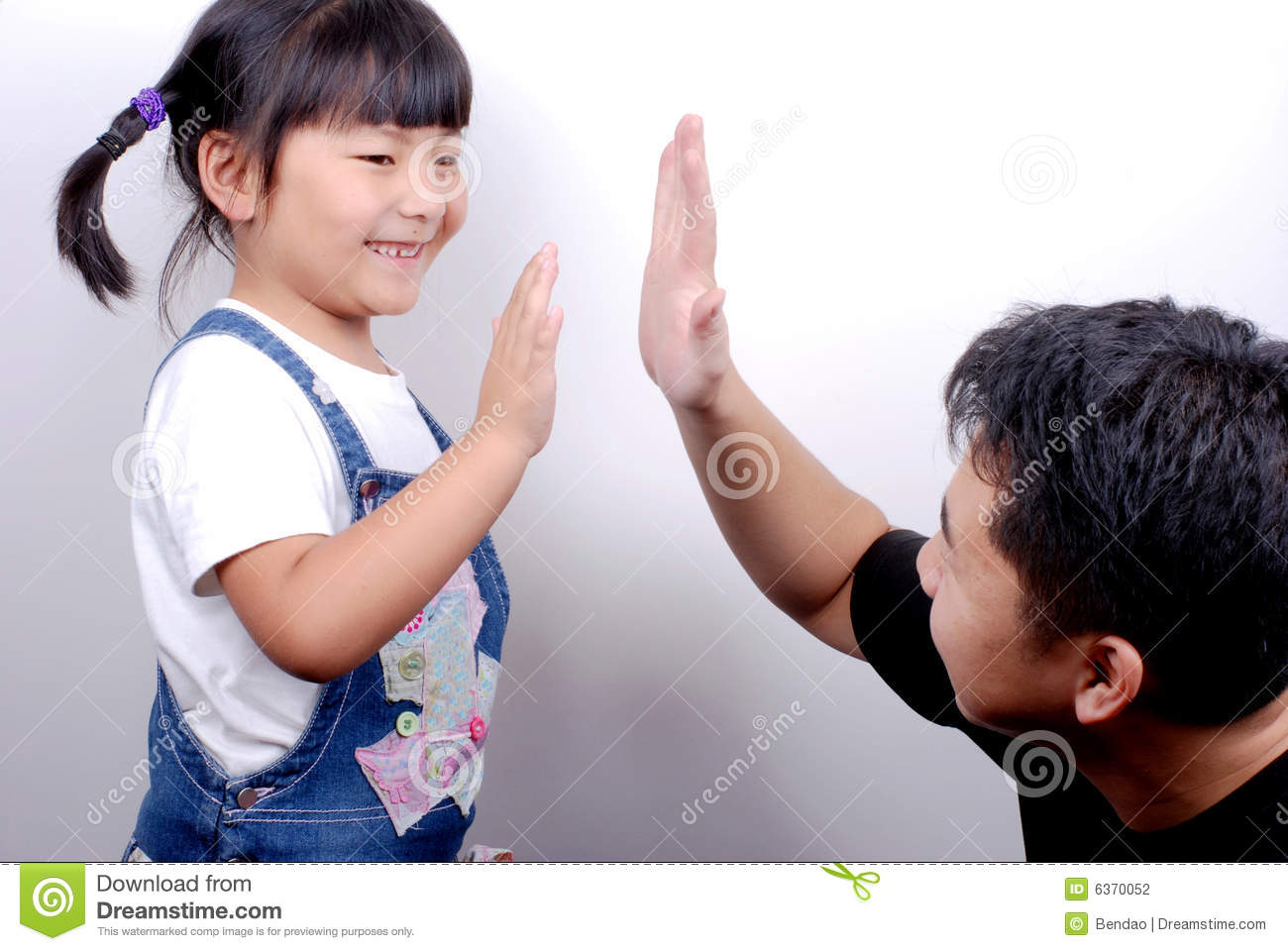 Give Me Five Stock Photography - Image: 6370052