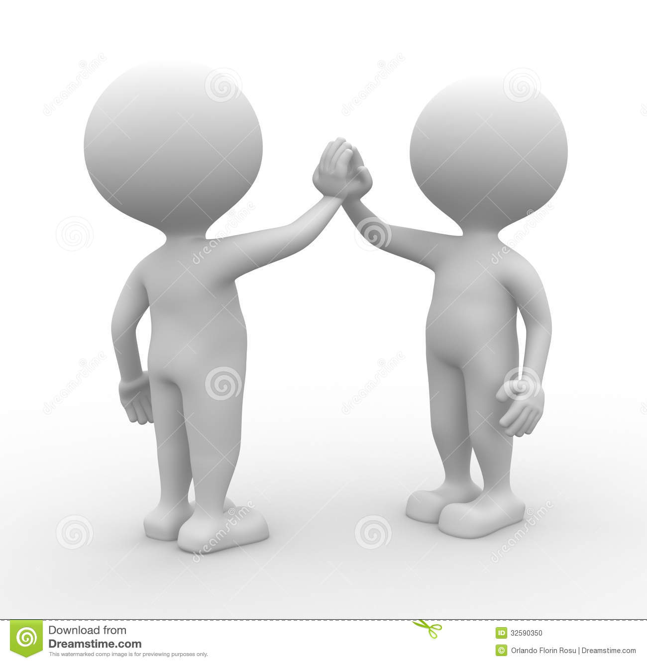 Give Me Five Stock Photo - Image: 32590350