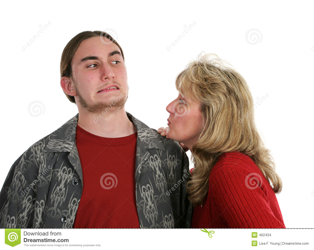 Give Mom A Kiss