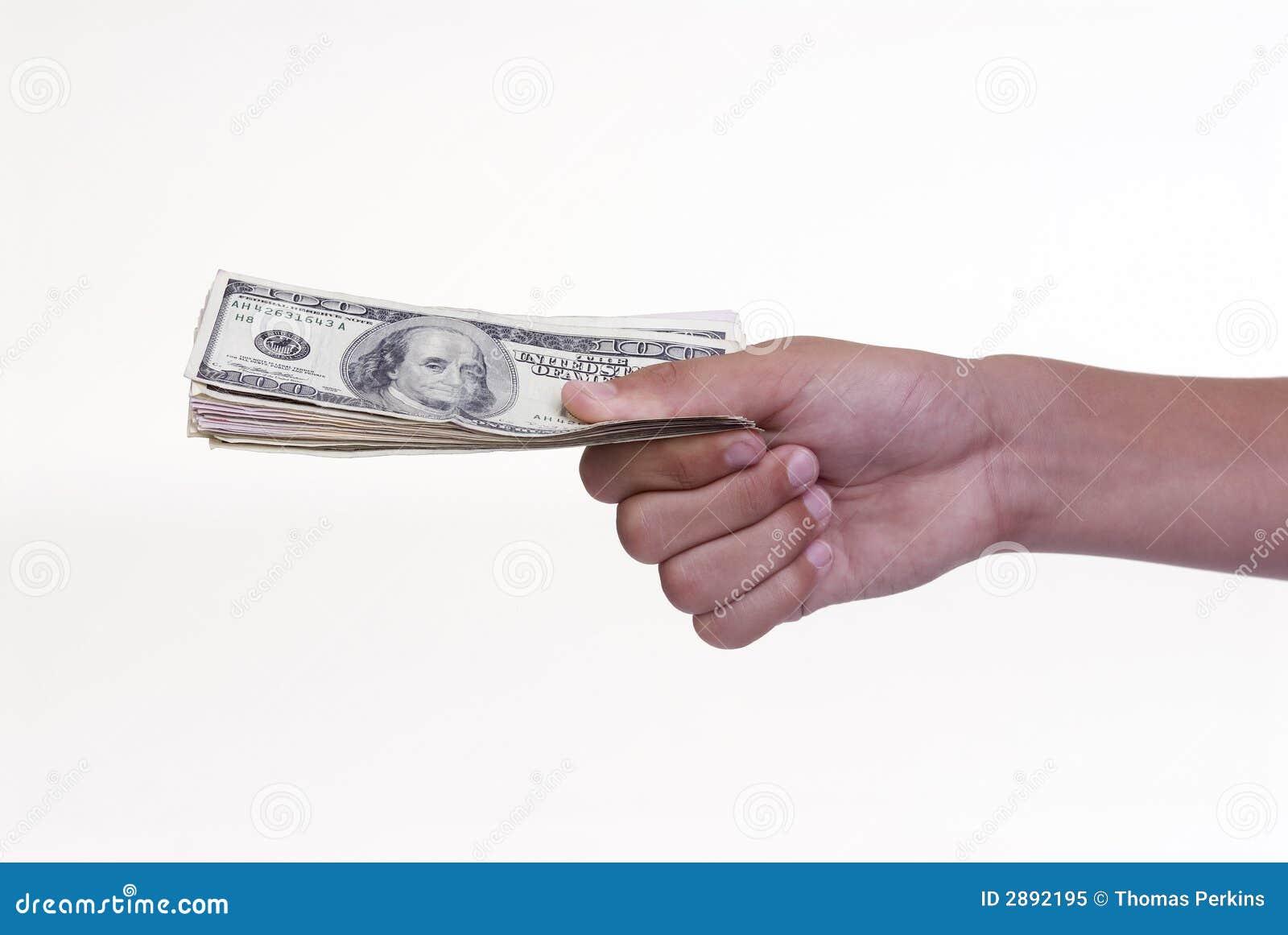 People Giving Money Away Giving Away Money Roya...