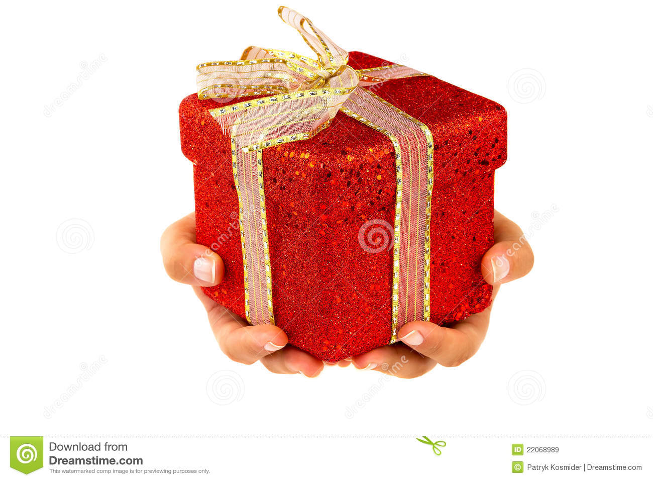 Giving a christmas gift stock image image of palm christmas giving a christmas gift negle Images