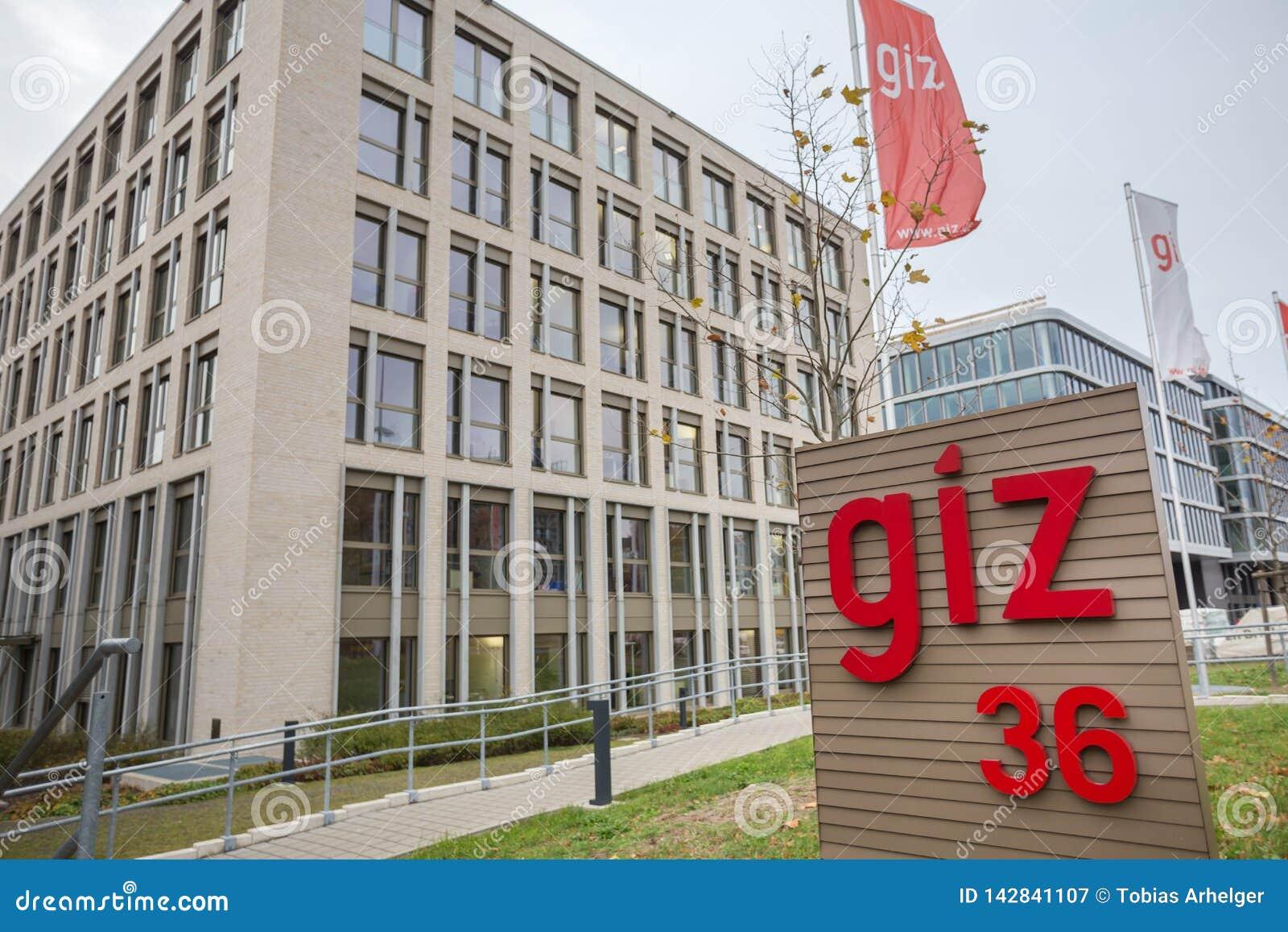 Giz budynek w Bonn Germany