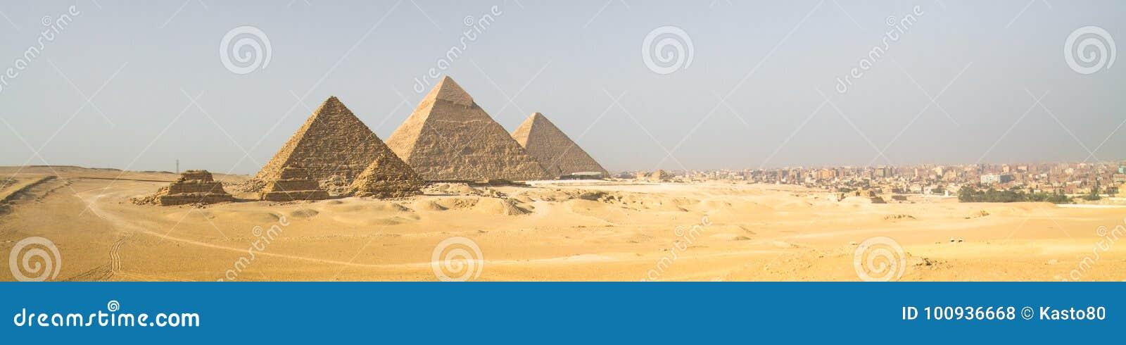 Giza ostrosłupy w Kair, Egipt