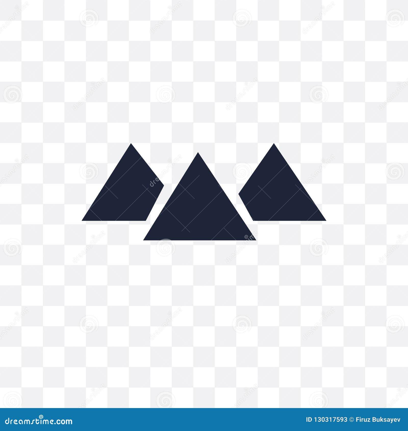 Giza przejrzysta ikona Giza symbolu projekt od architektury coll