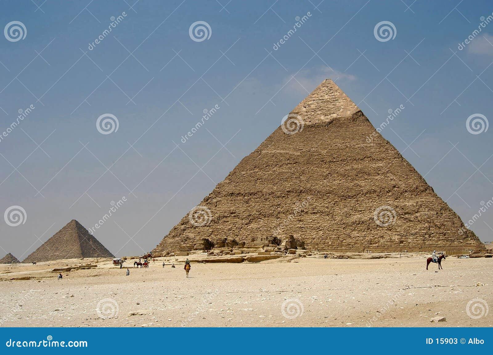 Giza pyramider