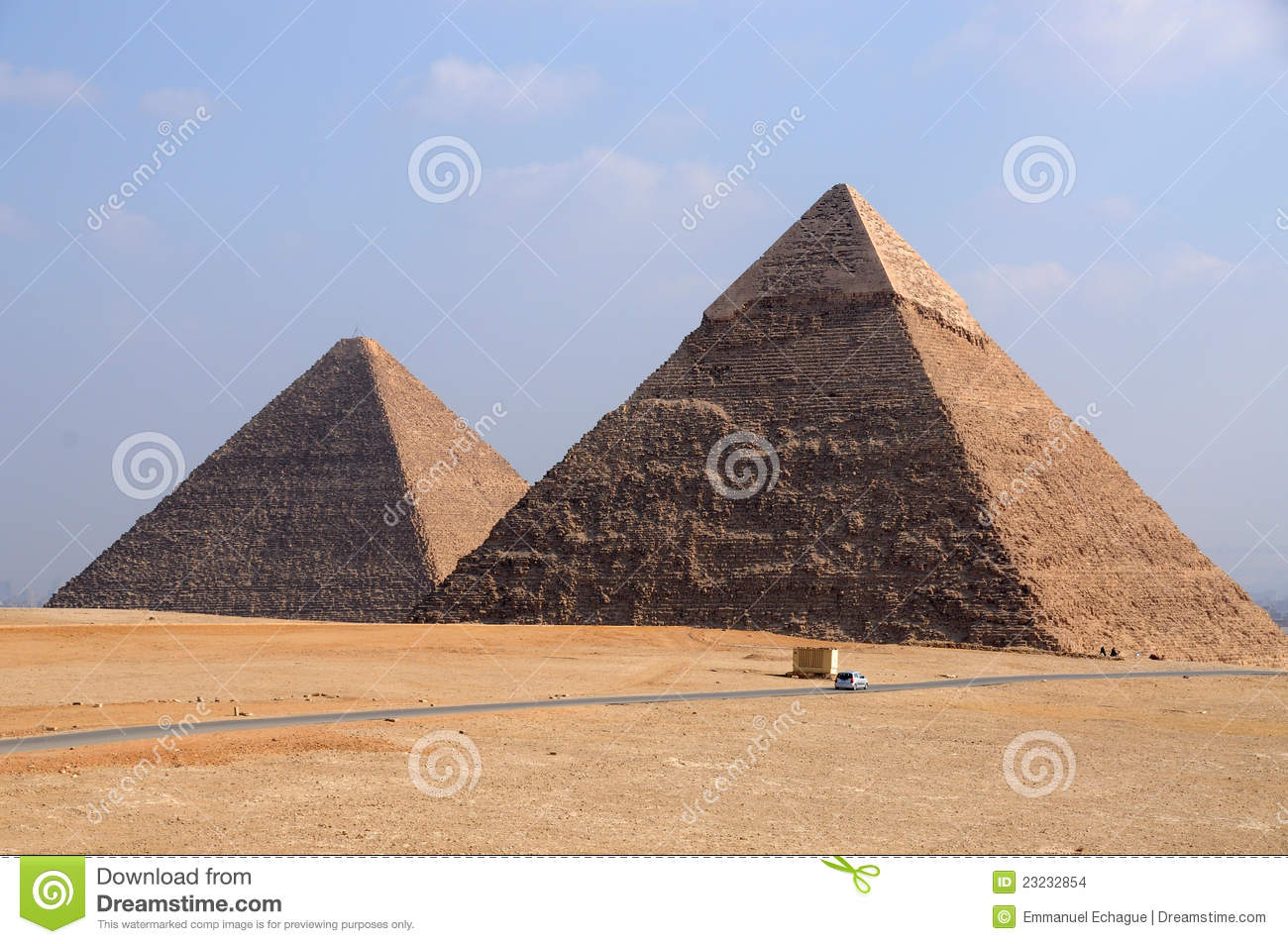Giza Pyramids of Egypt