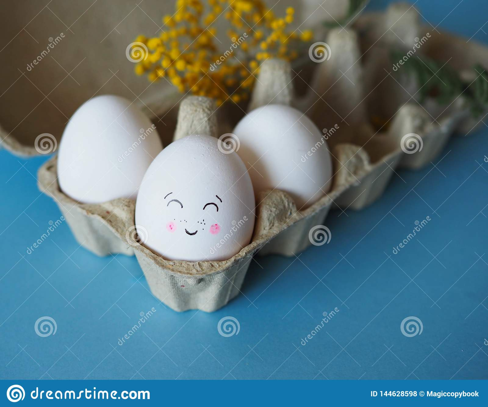 Gjord easter äggbild