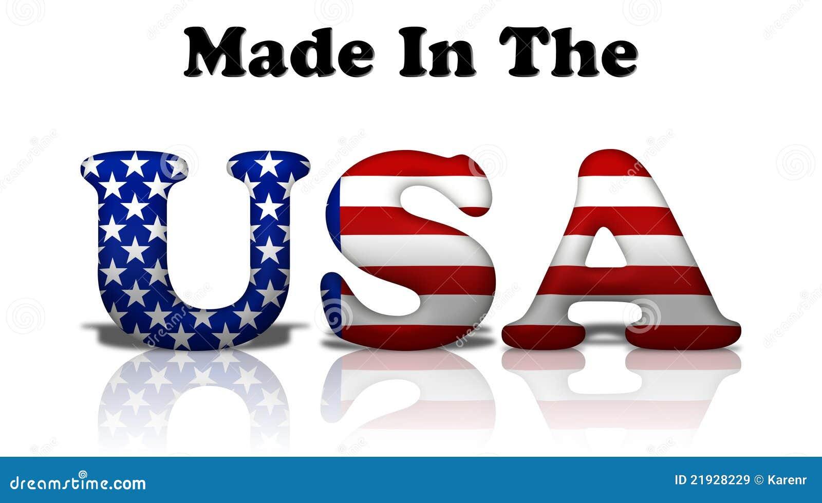 Gjorda USA