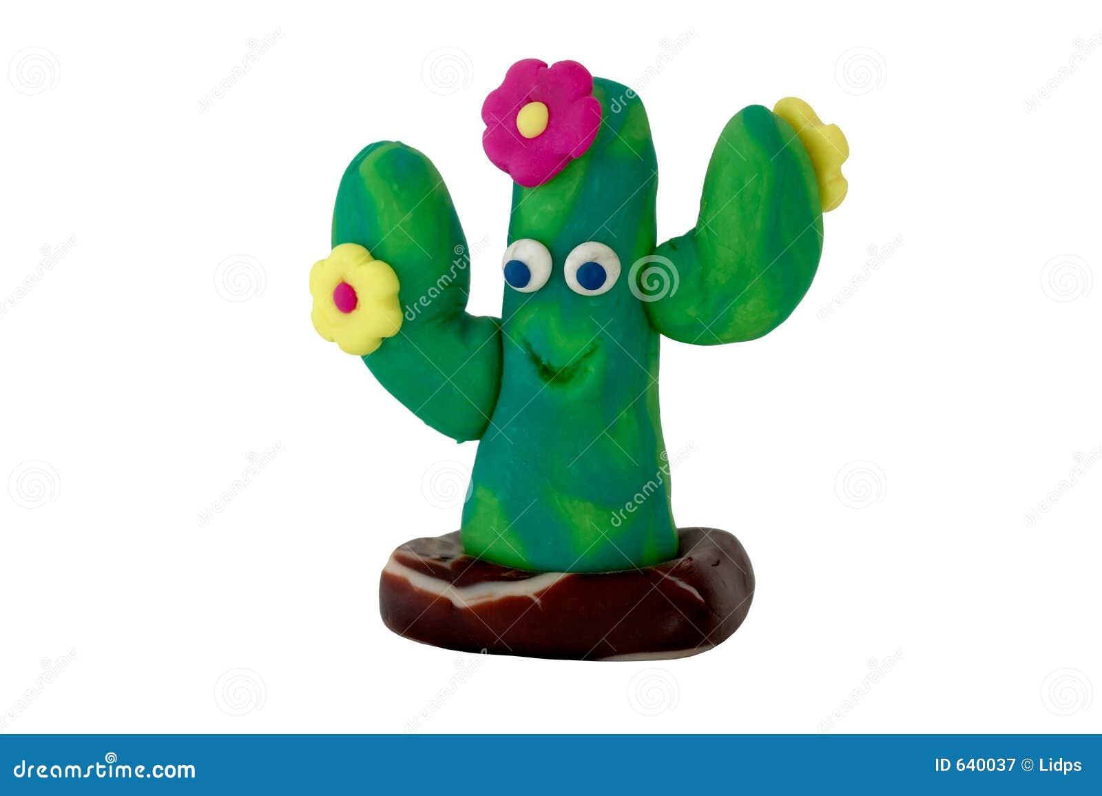 Gjuten kaktus