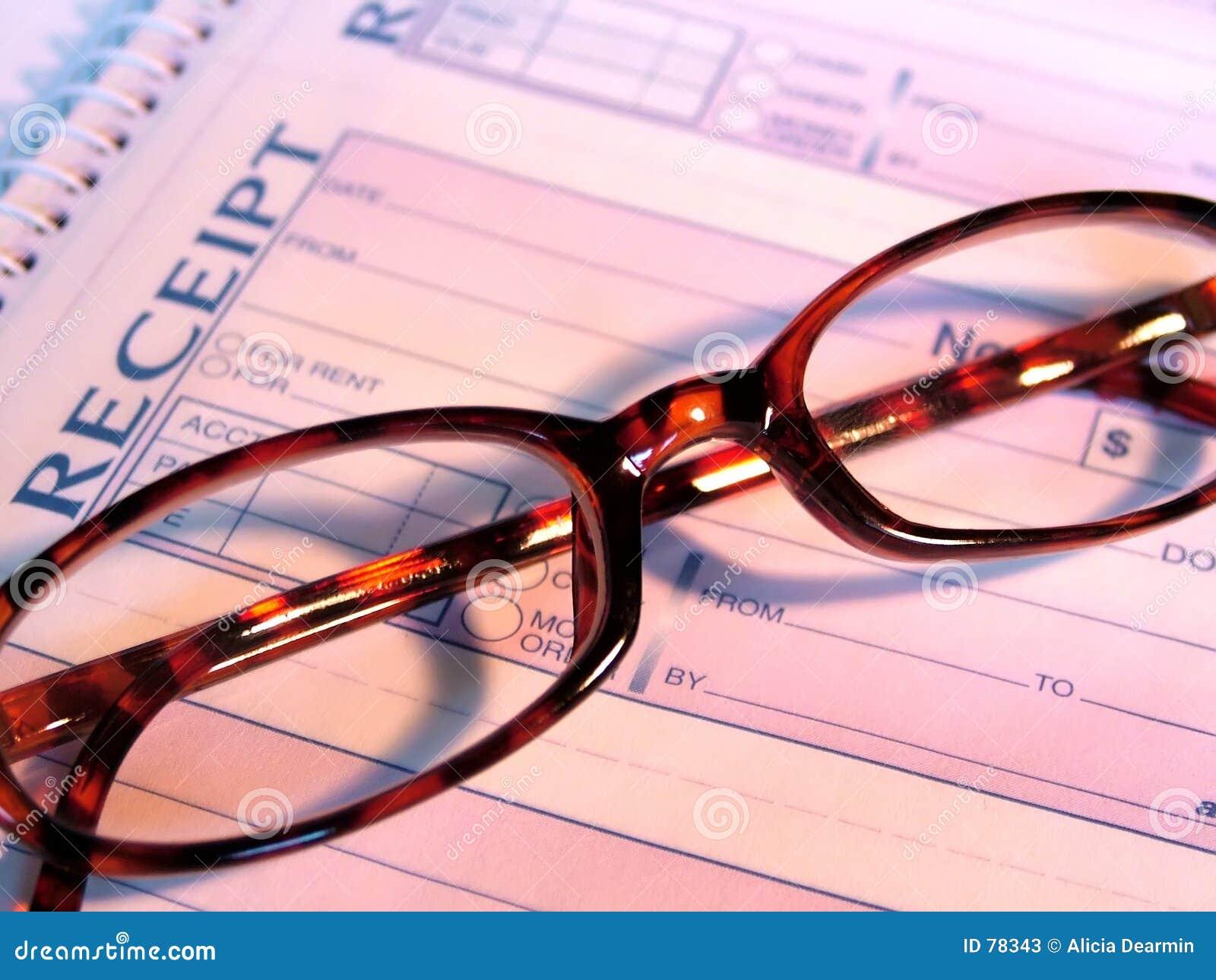 Gläser und Empfang