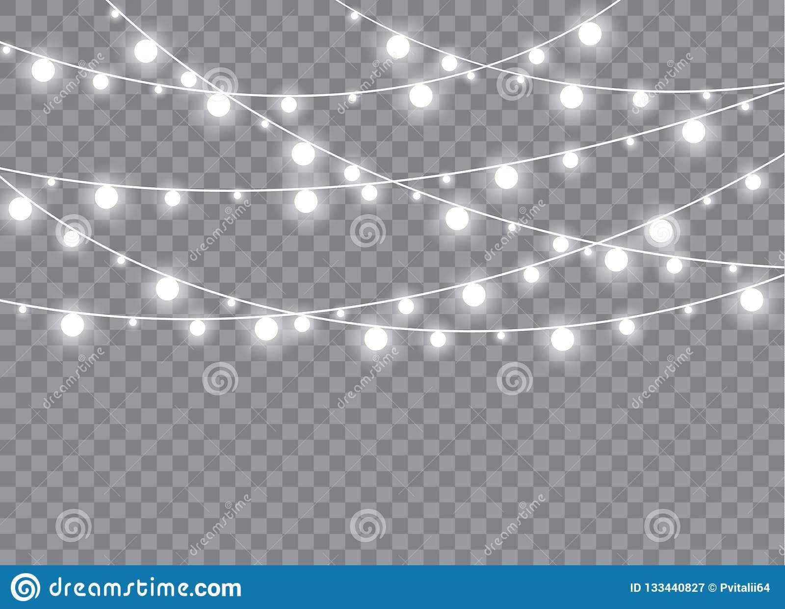 Glödande ljus exploderar på en genomskinlig bakgrund