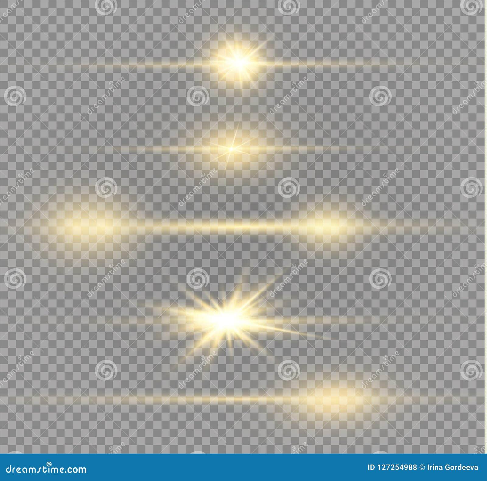 Glödande ljus för vit