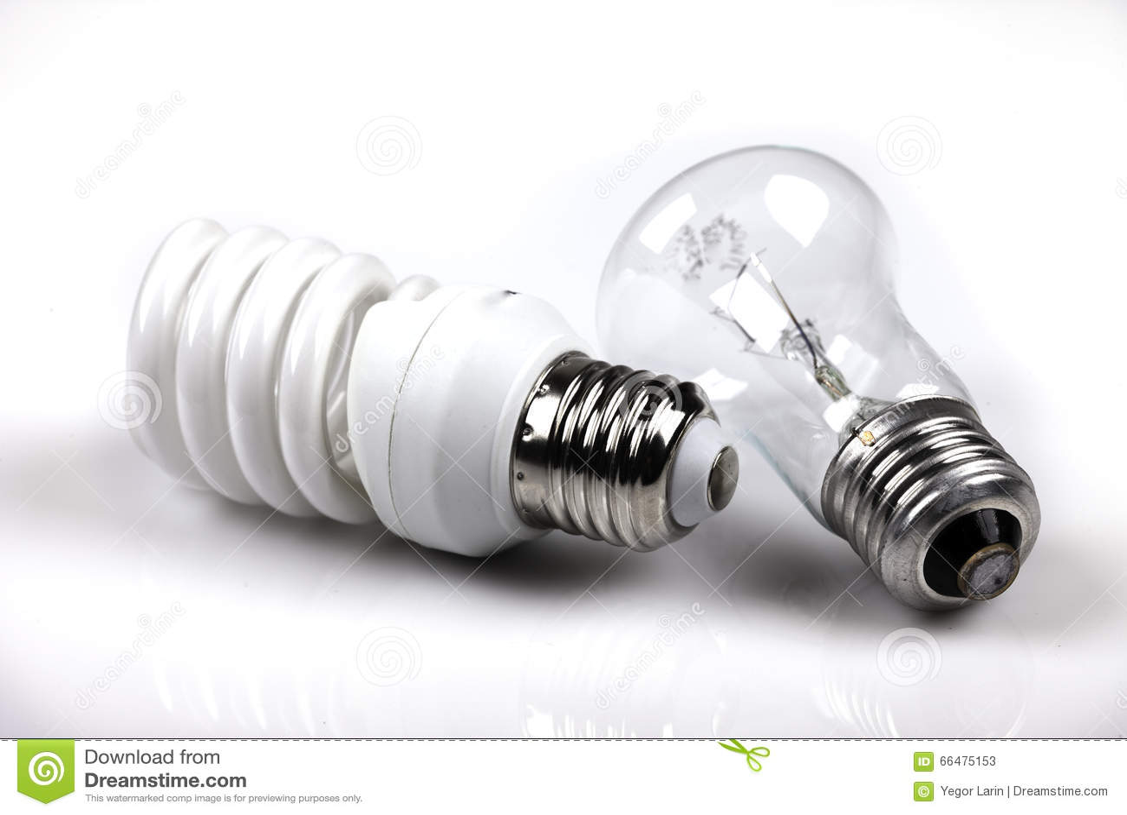 Glödande och energi - besparingvitbakgrund