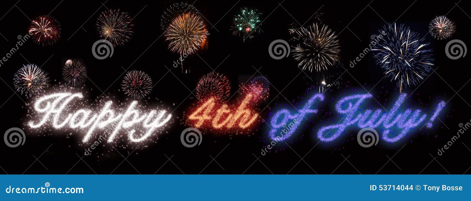 Glücklich Juli 4., Unabhängigkeitstag
