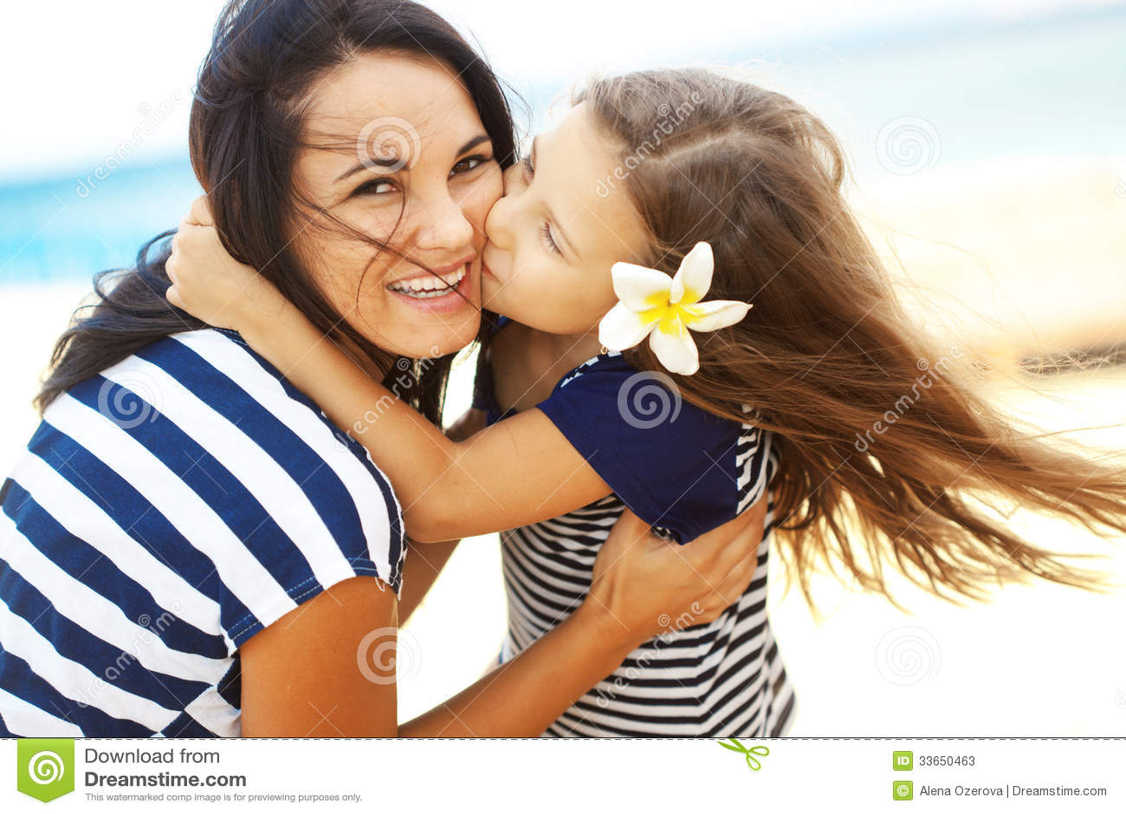 Glückliche Familie am Strand