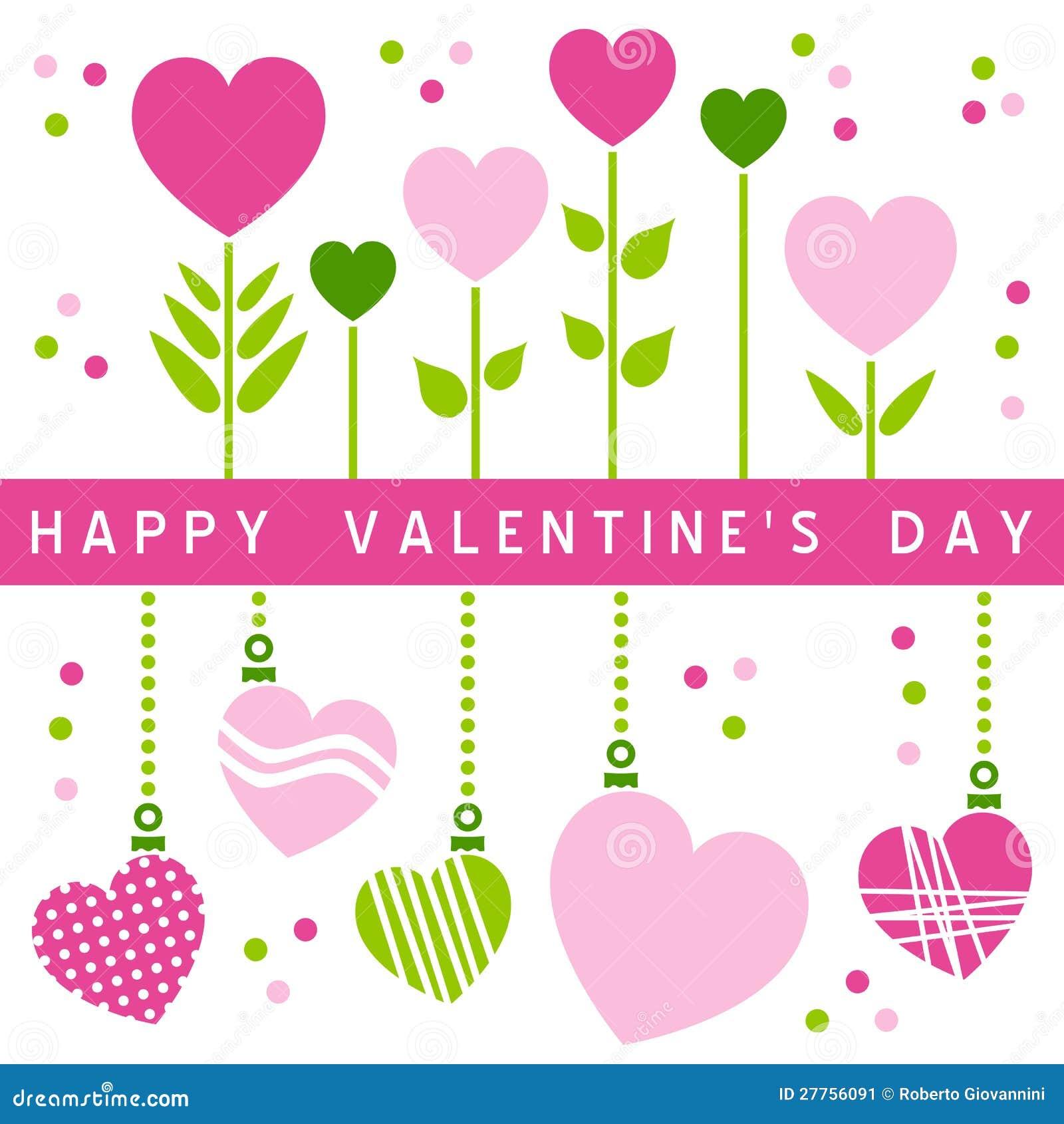 Glückliche Valentinsgruß-Tageskarte [1]