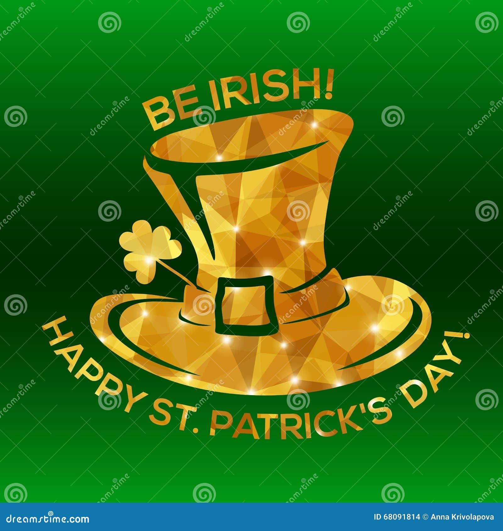 Glücklichen St Patrick Tagesgrußkarte