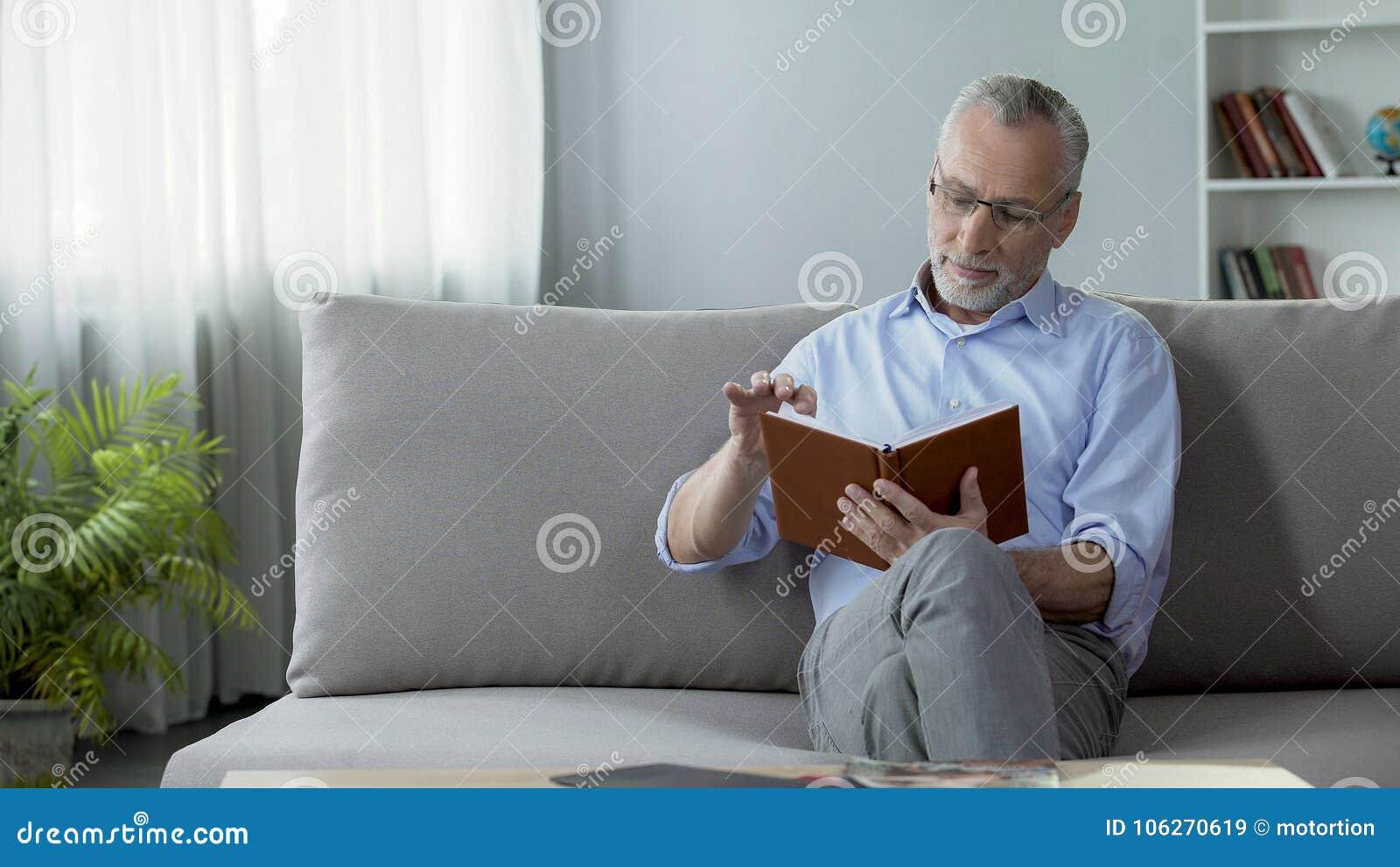 Couch Mädchen Alter Junges Mann Ein alter