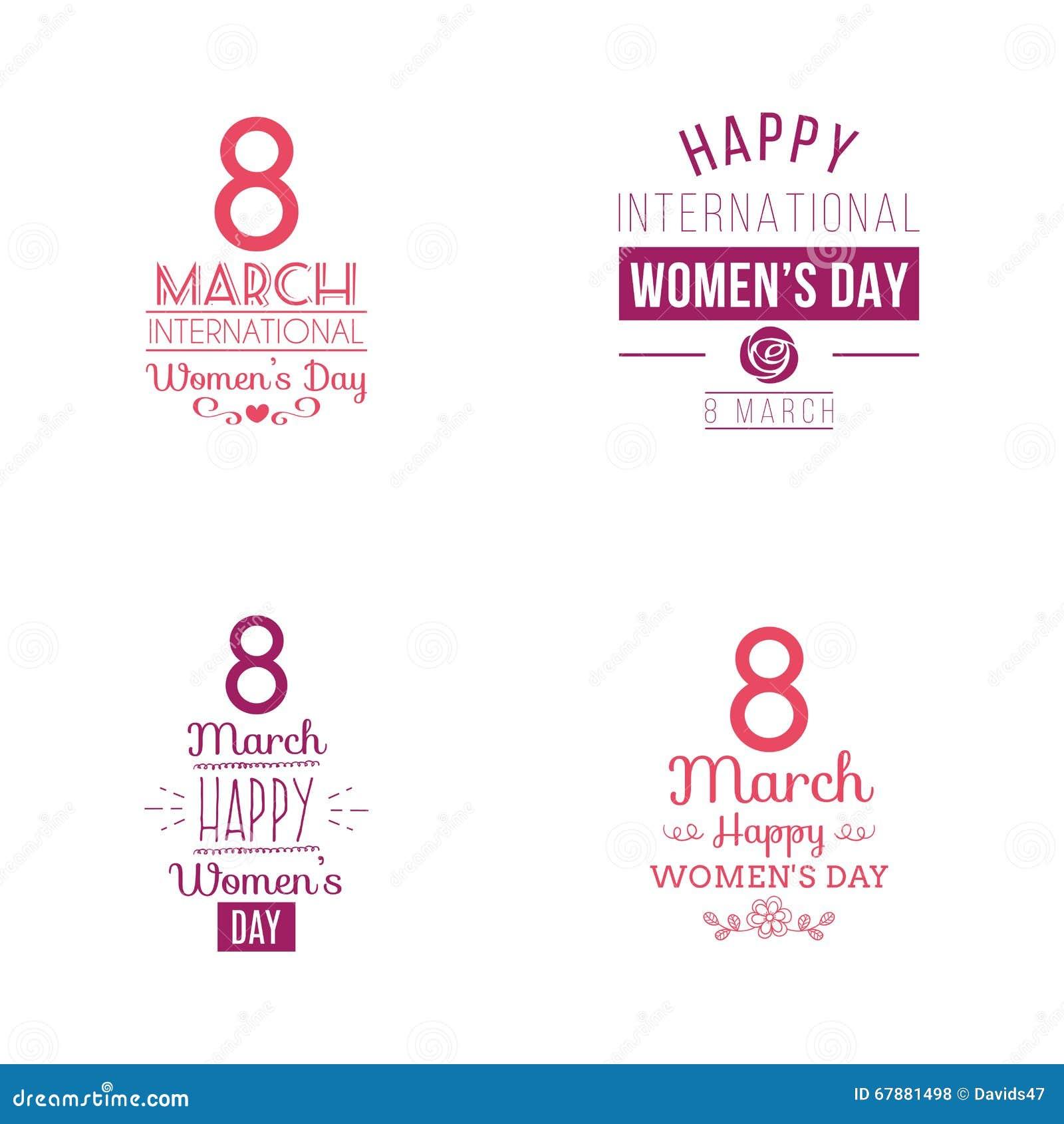 Glücklicher Frauentag