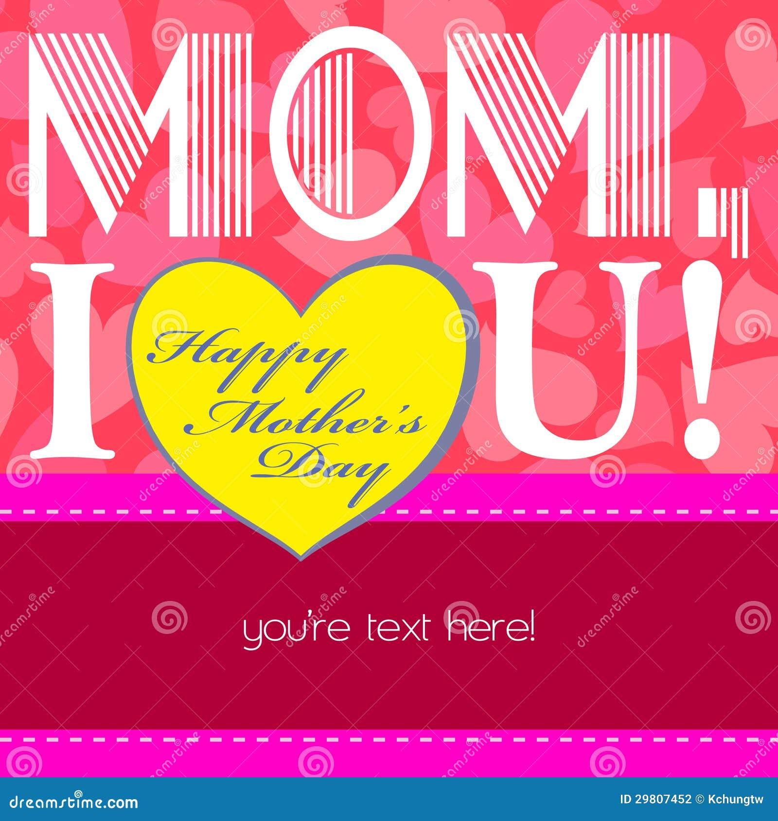 Glücklicher Muttertag, netter Hintergrund