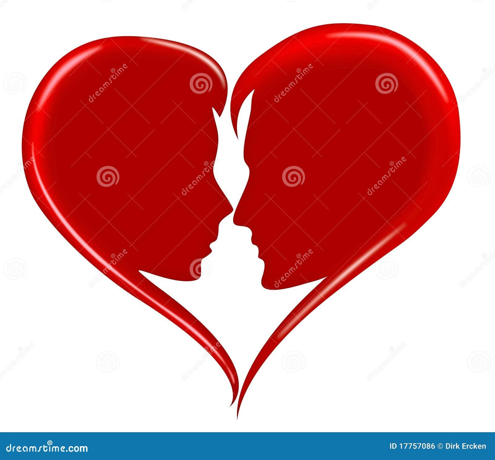 Glücklicher Romance Valentinsgruß des Liebesinneren