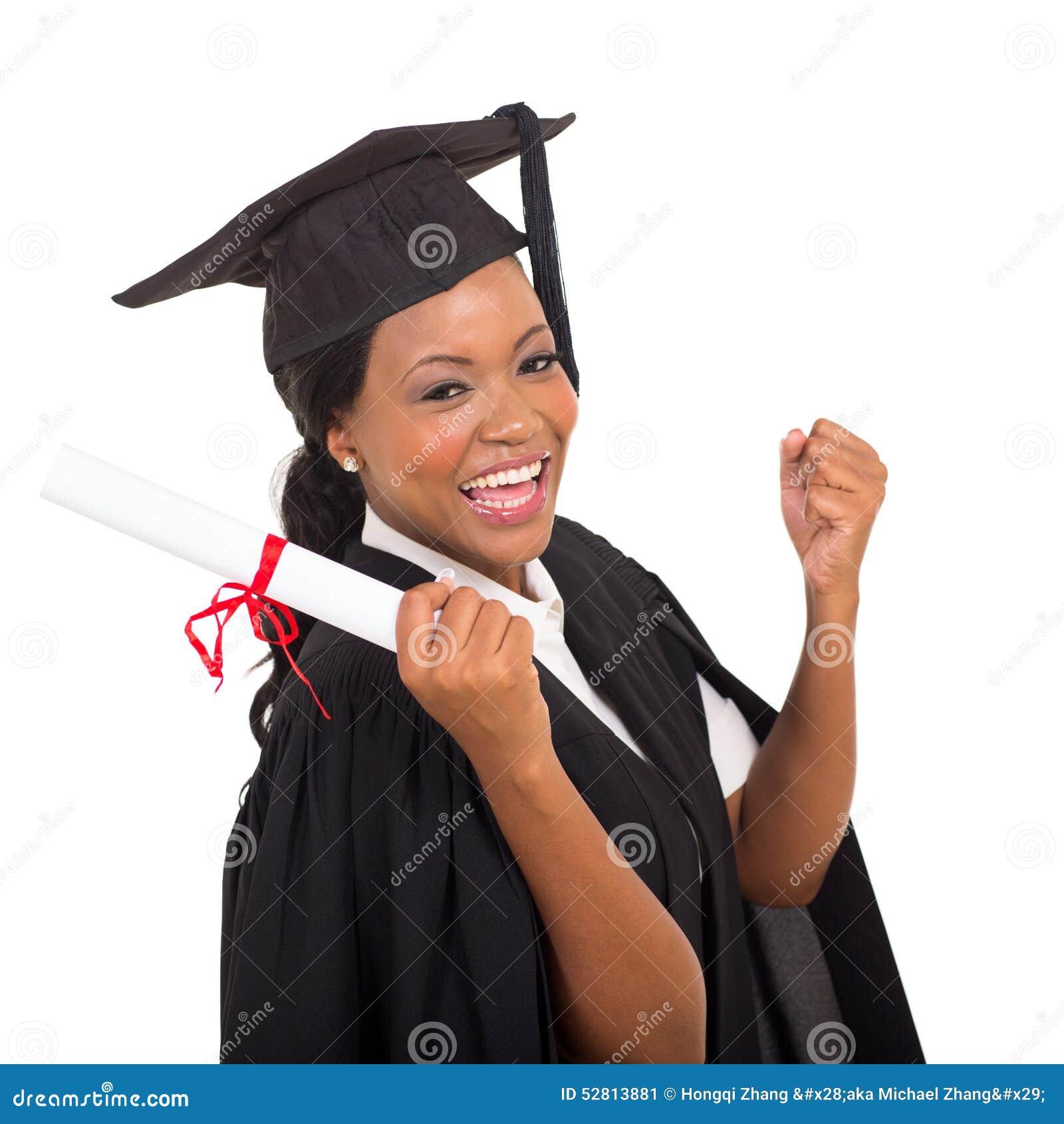 Glücklicher Student im Aufbaustudium