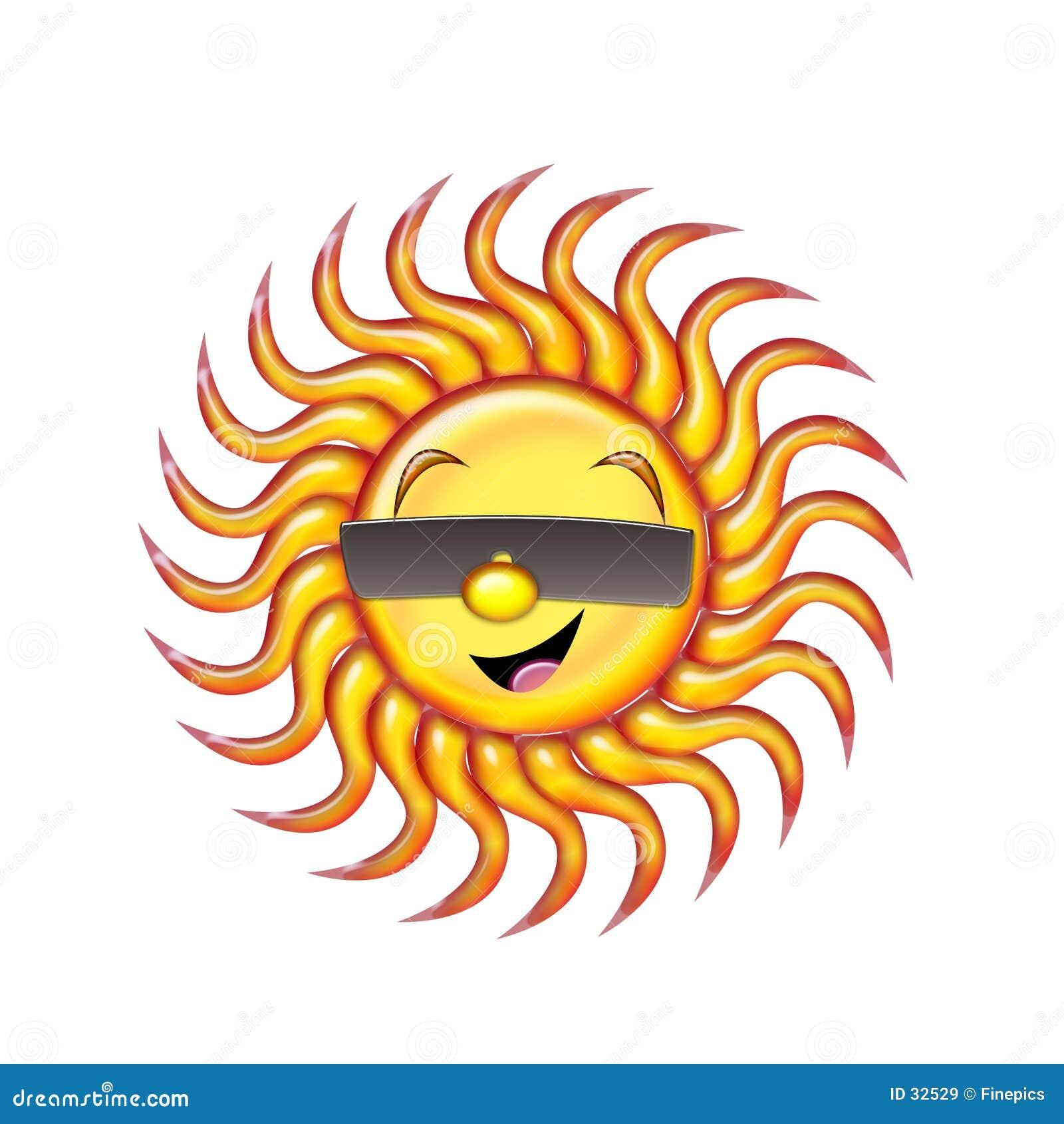 Glücklicher Sun