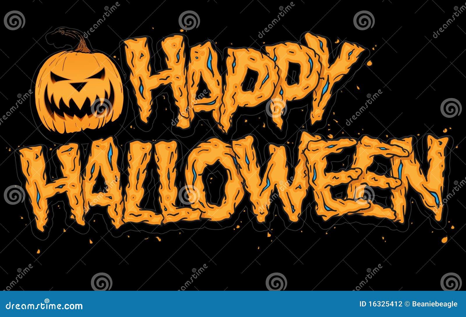 Glückliches Halloween