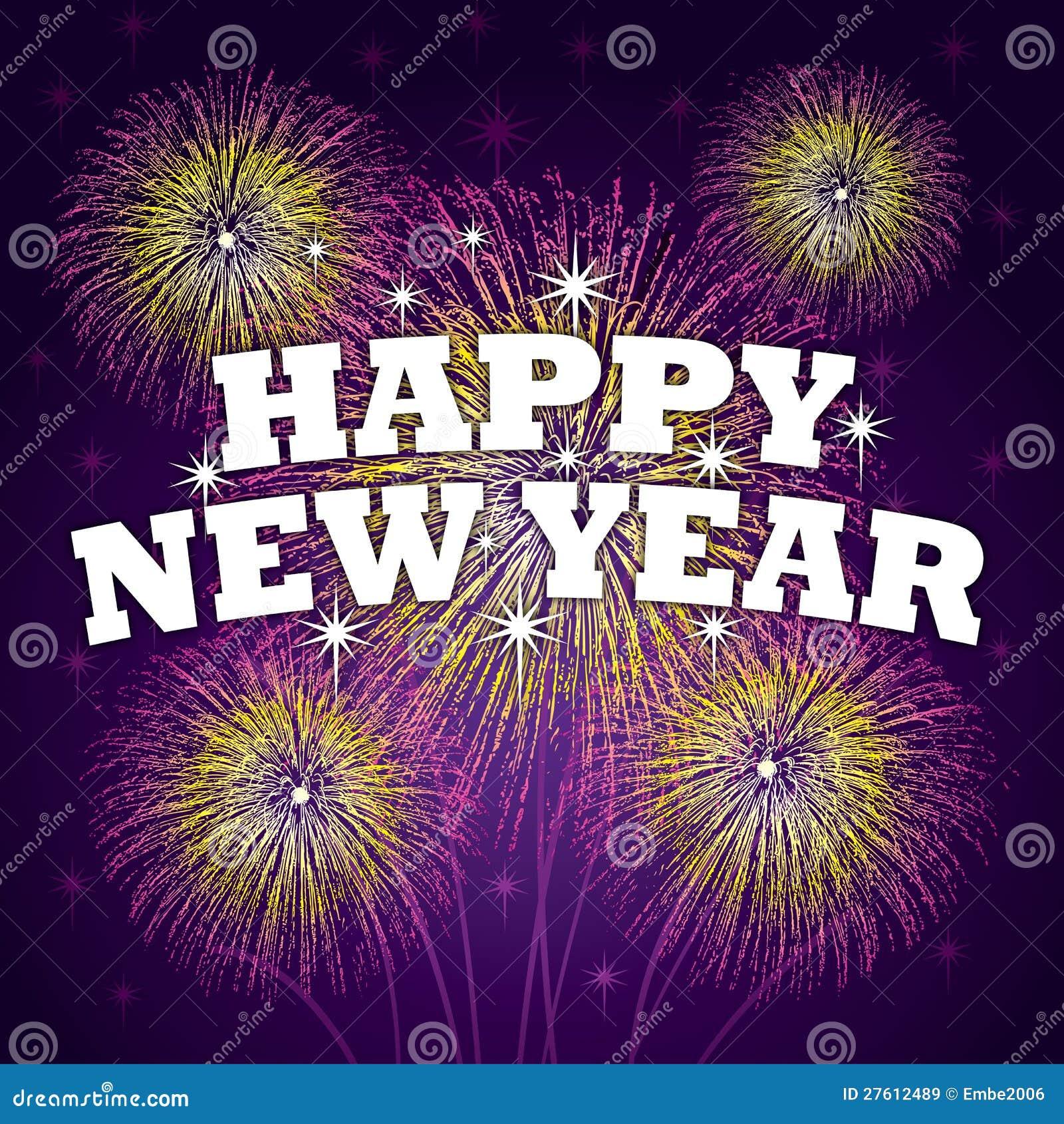 Glückliches neues Jahr-Hintergrund