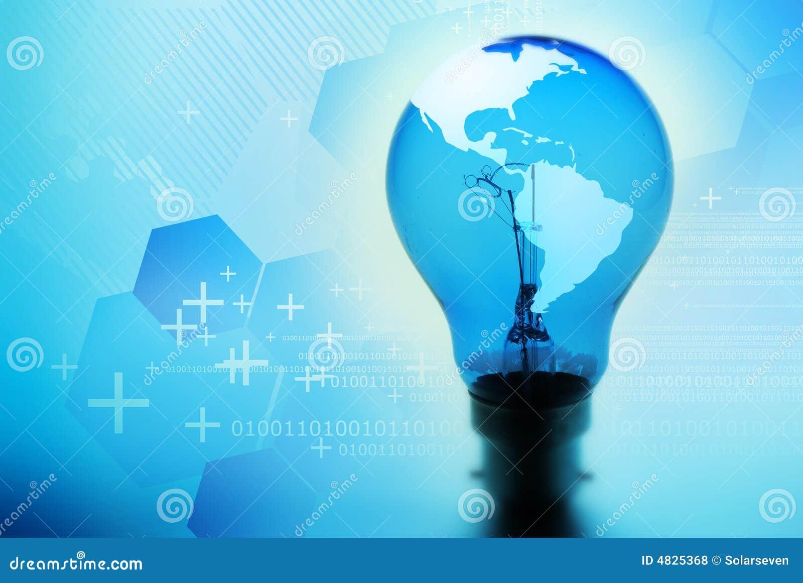Glühlampe-Idee