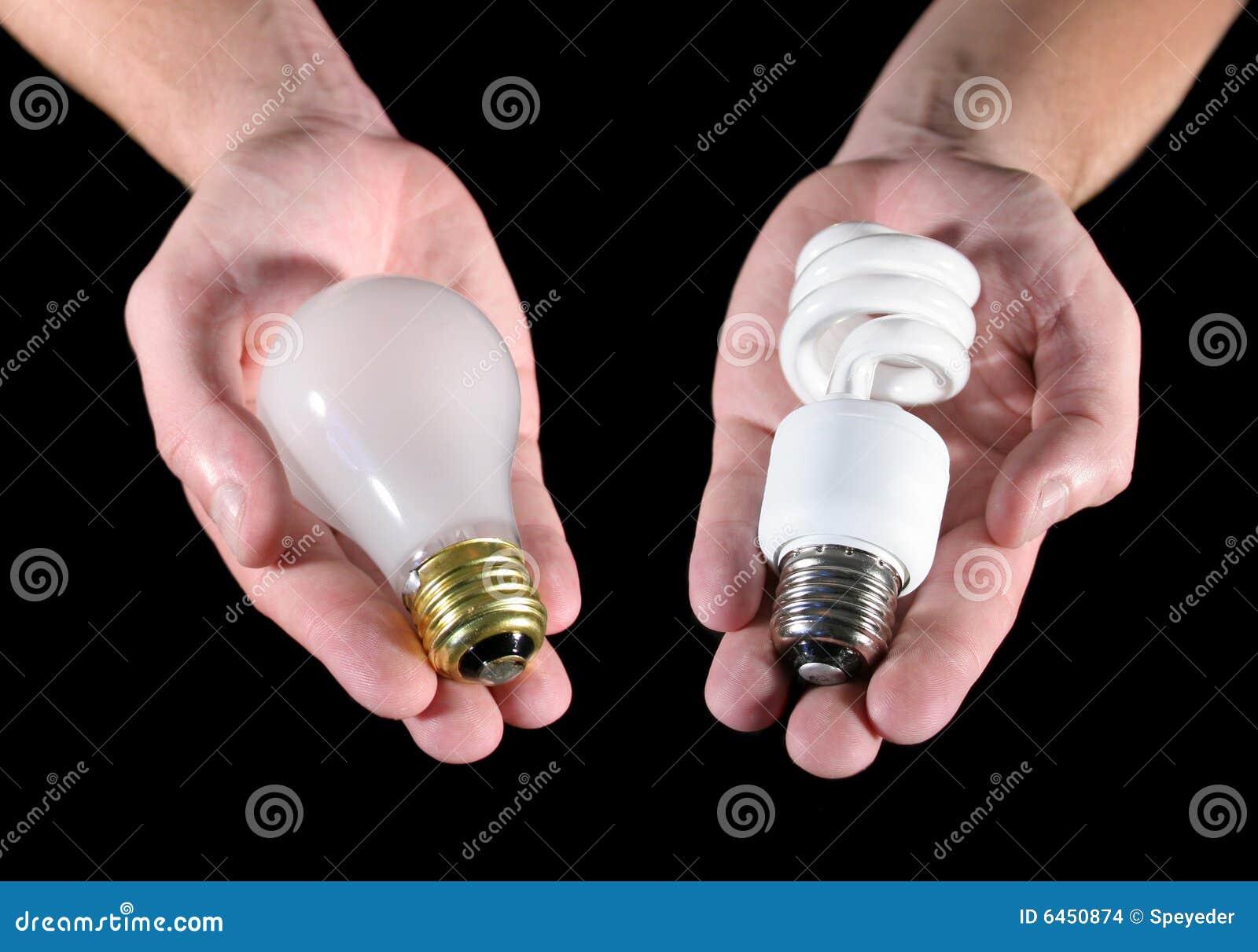 Glühlampe-Wahl