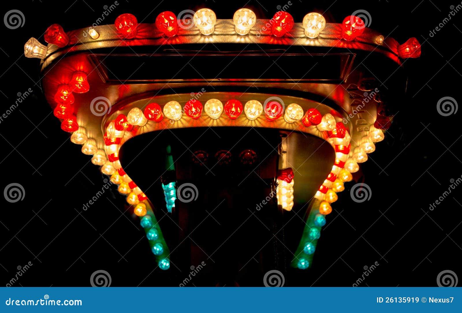 Glühlampen vom Funfair