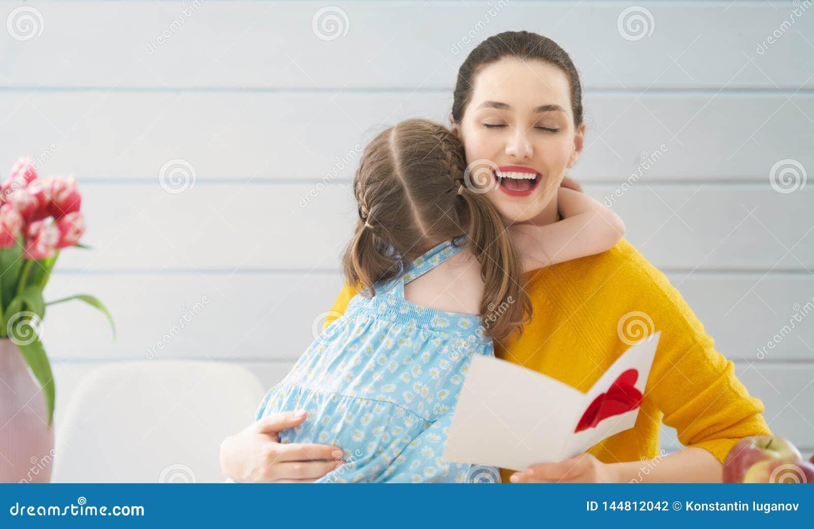 Gl?cklicher Mutter`s Tag