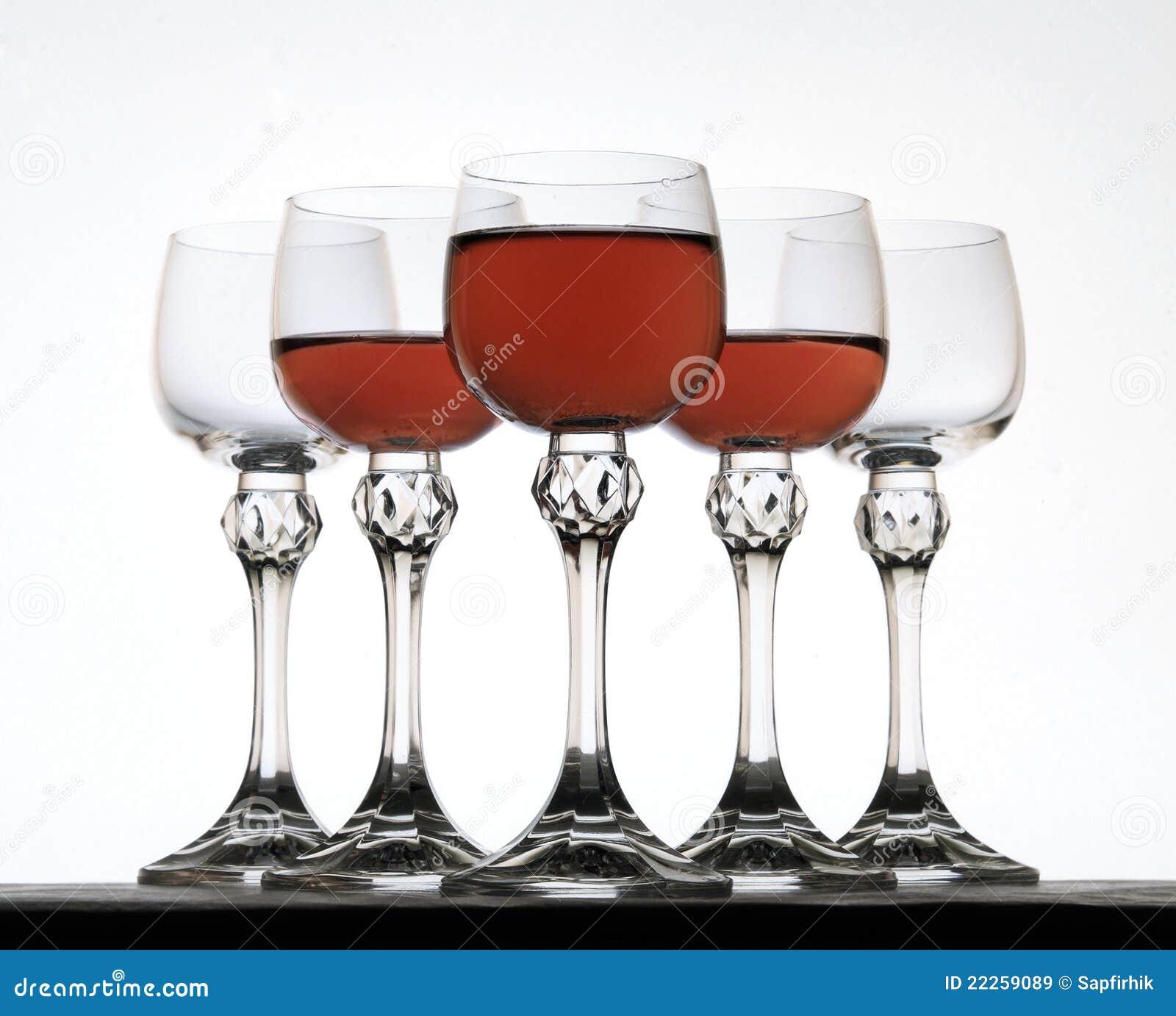 glace avec le vin rouge images libres de droits image 22259089. Black Bedroom Furniture Sets. Home Design Ideas