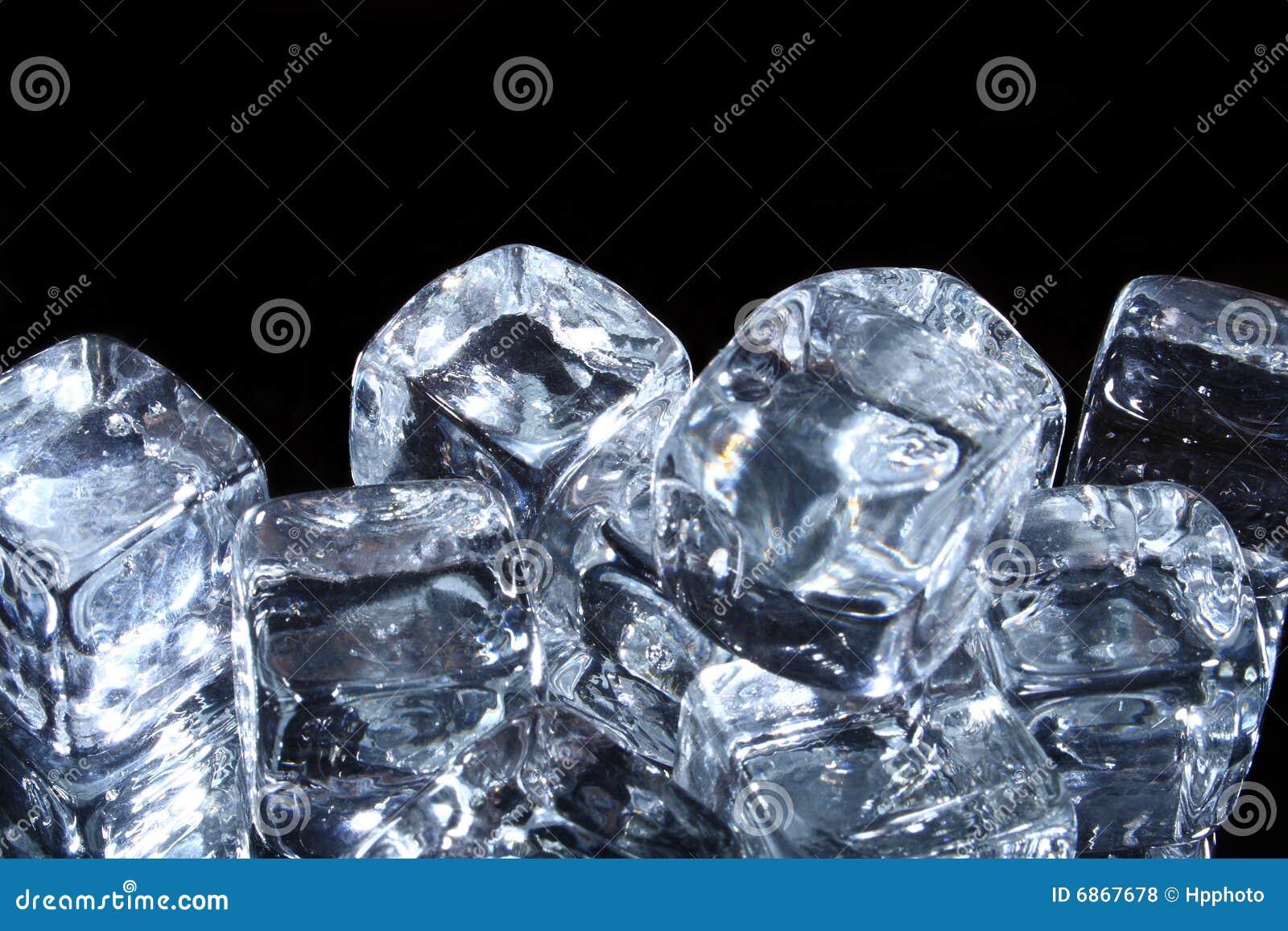 Glace de cubes