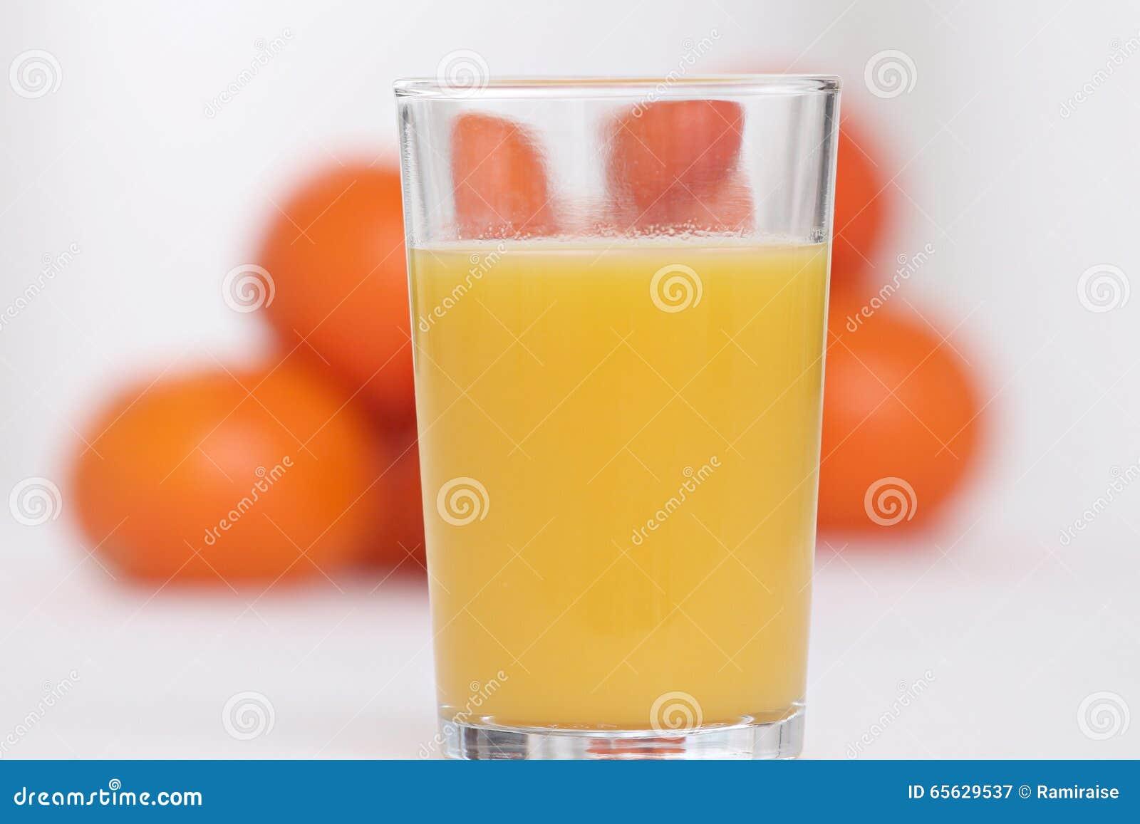 Glace de jus d orange