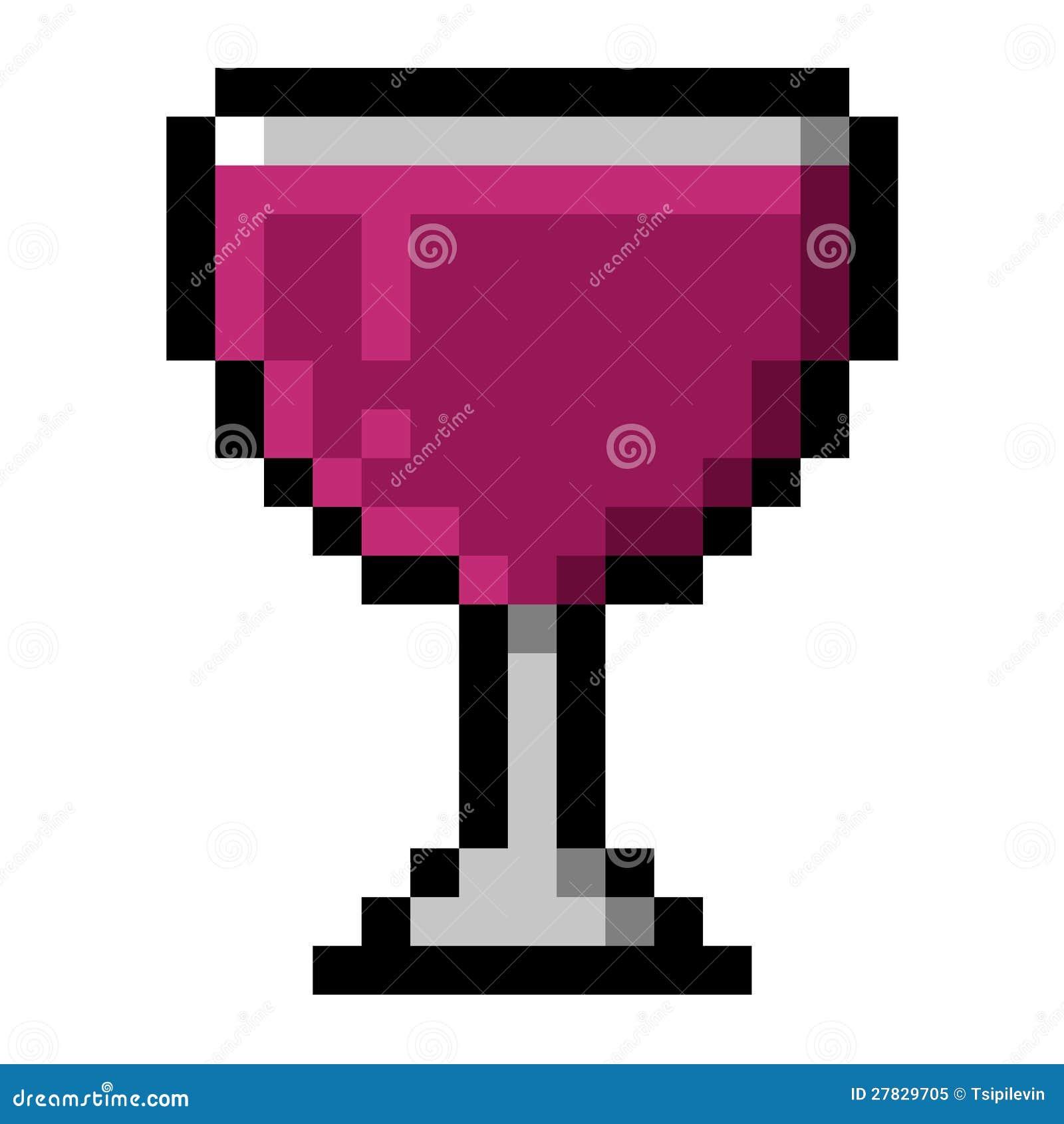 pixel art verre